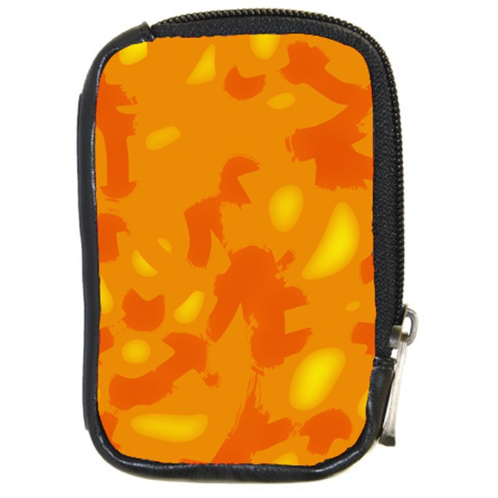 Orange decor Compact Camera Cases