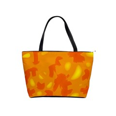 Orange decor Shoulder Handbags