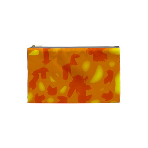 Orange decor Cosmetic Bag (Small)