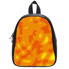 Orange decor School Bags (Small)