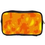 Orange decor Toiletries Bags Front