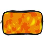 Orange decor Toiletries Bags 2-Side Back