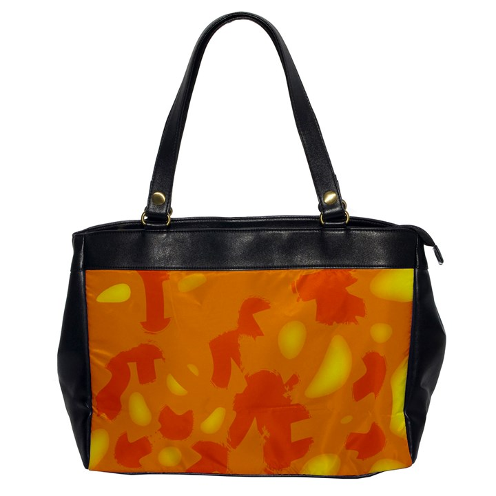 Orange decor Office Handbags