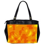 Orange decor Office Handbags (2 Sides)  Back
