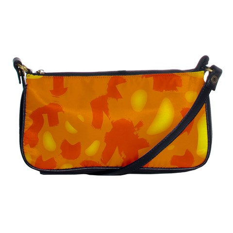 Orange decor Shoulder Clutch Bags