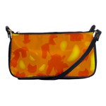 Orange decor Shoulder Clutch Bags Front