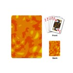 Orange decor Playing Cards (Mini)  Back