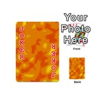Orange decor Playing Cards 54 (Mini)  Front - Joker2