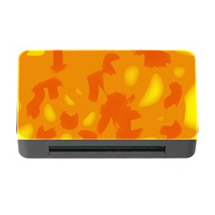 Orange decor Memory Card Reader with CF