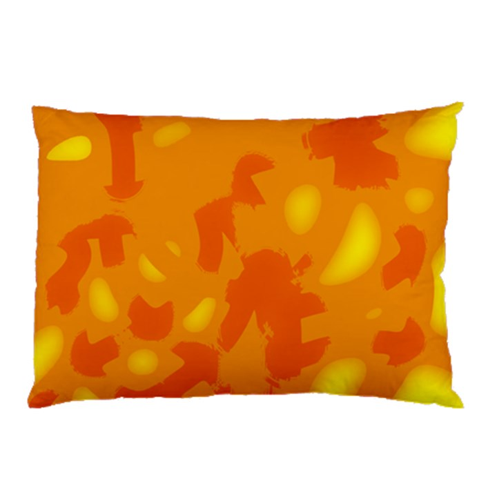 Orange decor Pillow Case (Two Sides)