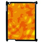 Orange decor Apple iPad 2 Case (Black) Front
