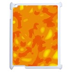 Orange decor Apple iPad 2 Case (White) Front