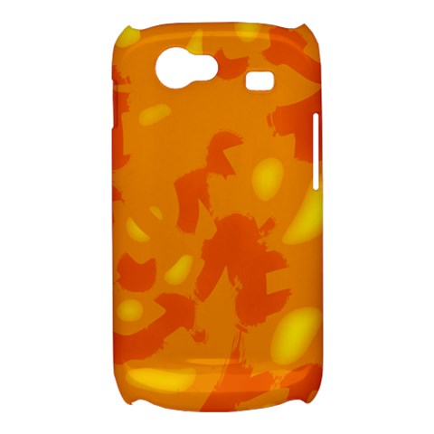 Orange decor Samsung Galaxy Nexus S i9020 Hardshell Case