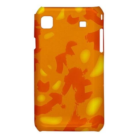 Orange decor Samsung Galaxy S i9008 Hardshell Case