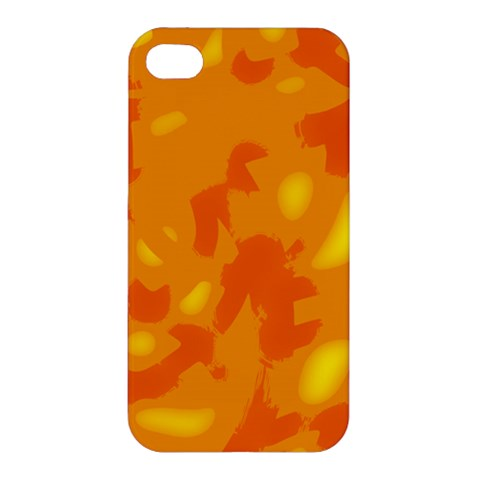 Orange decor Apple iPhone 4/4S Premium Hardshell Case