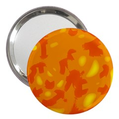 Orange decor 3  Handbag Mirrors