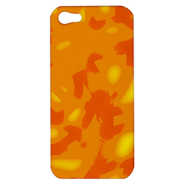 Orange decor Apple iPhone 5 Hardshell Case