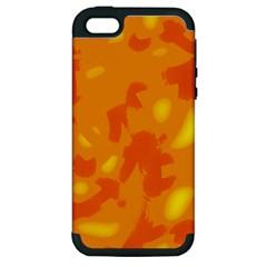 Orange decor Apple iPhone 5 Hardshell Case (PC+Silicone)