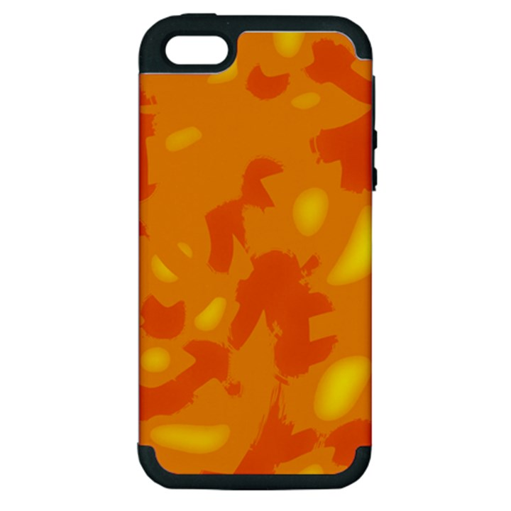 Orange decor Apple iPhone 5 Hardshell Case (PC+Silicone)