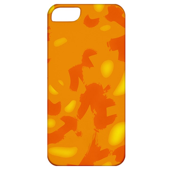 Orange decor Apple iPhone 5 Classic Hardshell Case