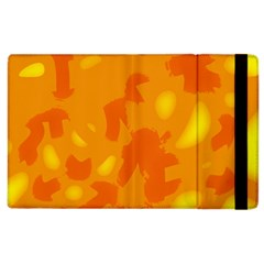 Orange decor Apple iPad 3/4 Flip Case