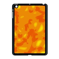Orange Decor Apple Ipad Mini Case (black)