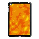 Orange decor Apple iPad Mini Case (Black) Front