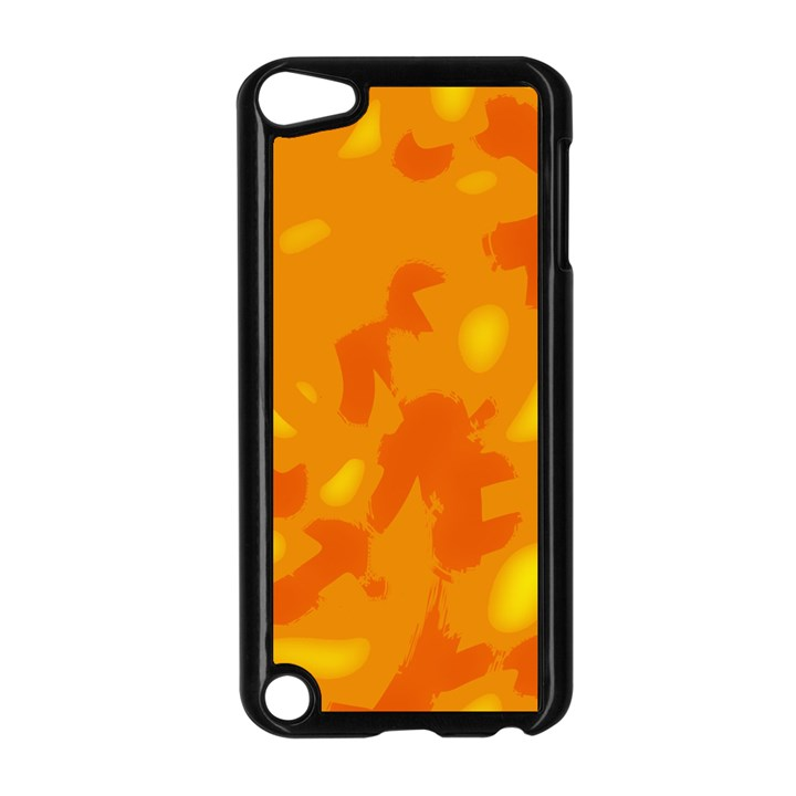 Orange decor Apple iPod Touch 5 Case (Black)
