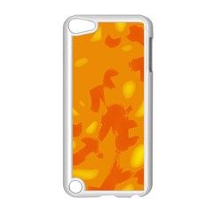 Orange decor Apple iPod Touch 5 Case (White)