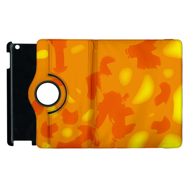 Orange decor Apple iPad 2 Flip 360 Case