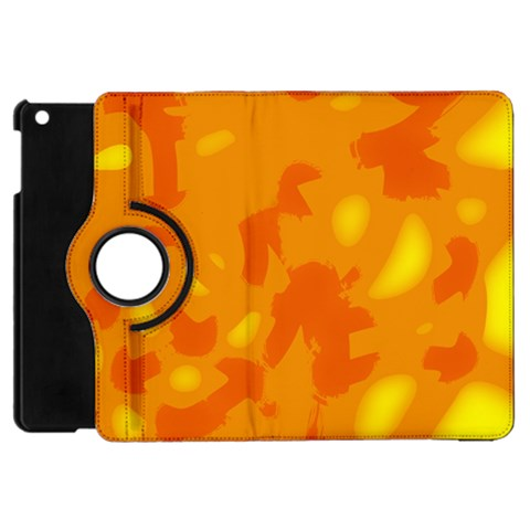 Orange decor Apple iPad Mini Flip 360 Case