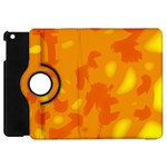 Orange decor Apple iPad Mini Flip 360 Case Front