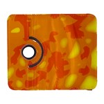 Orange decor Samsung Galaxy S  III Flip 360 Case Front