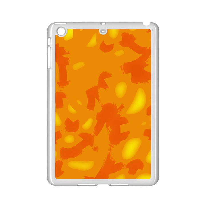 Orange decor iPad Mini 2 Enamel Coated Cases