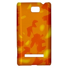 Orange decor HTC 8S Hardshell Case