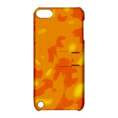 Orange decor Apple iPod Touch 5 Hardshell Case with Stand