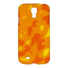 Orange decor Samsung Galaxy S4 I9500/I9505 Hardshell Case