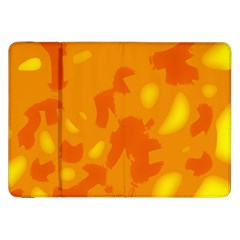 Orange decor Samsung Galaxy Tab 8.9  P7300 Flip Case