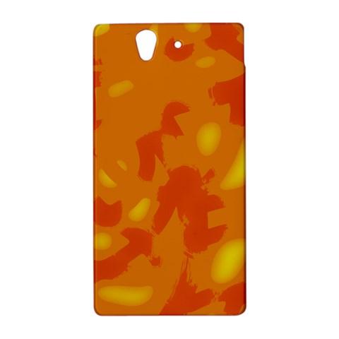 Orange decor Sony Xperia Z