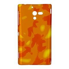 Orange decor Sony Xperia ZL (L35H)