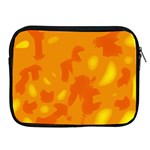 Orange decor Apple iPad 2/3/4 Zipper Cases Front