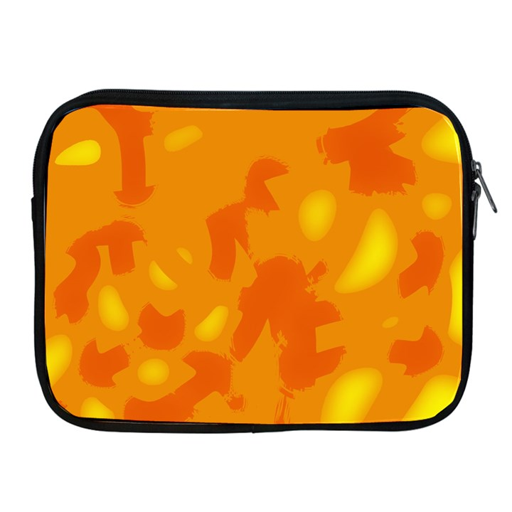 Orange decor Apple iPad 2/3/4 Zipper Cases