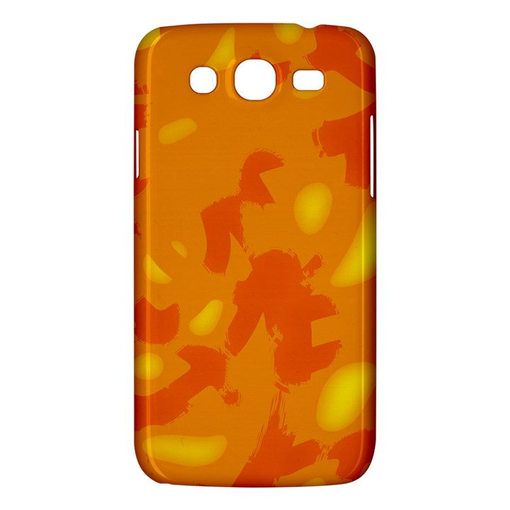 Orange decor Samsung Galaxy Mega 5.8 I9152 Hardshell Case