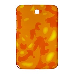 Orange Decor Samsung Galaxy Note 8 0 N5100 Hardshell Case