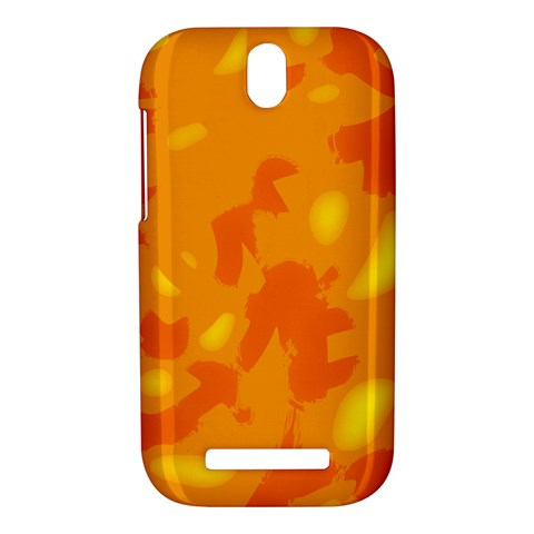 Orange decor HTC One SV Hardshell Case