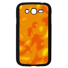 Orange decor Samsung Galaxy Grand DUOS I9082 Case (Black)