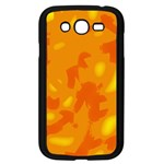 Orange decor Samsung Galaxy Grand DUOS I9082 Case (Black) Front