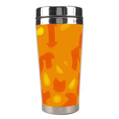 Orange decor Stainless Steel Travel Tumblers