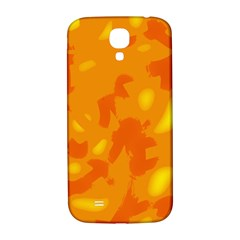 Orange Decor Samsung Galaxy S4 I9500/i9505  Hardshell Back Case