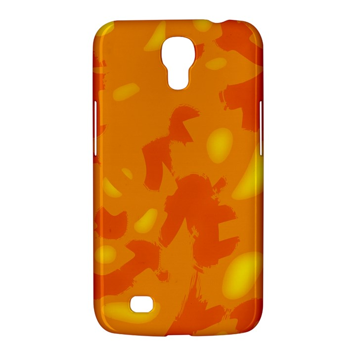 Orange decor Samsung Galaxy Mega 6.3  I9200 Hardshell Case